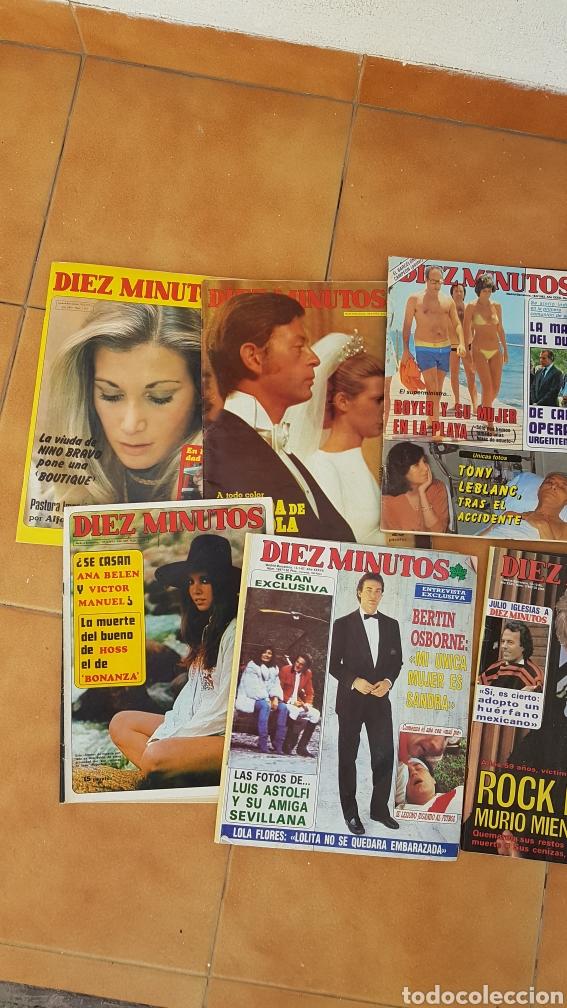 Coleccionismo de Revista Diez Minutos: Lote revistas Pronto Diez Minutos años 70 80 Isabel Pantoja Manolo Escobar Ana Belen Bertin Osborne - Foto 2 - 180168952