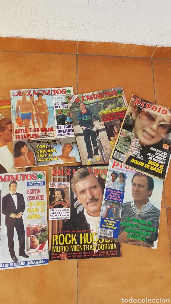Coleccionismo de Revista Diez Minutos: Lote revistas Pronto Diez Minutos años 70 80 Isabel Pantoja Manolo Escobar Ana Belen Bertin Osborne - Foto 3 - 180168952
