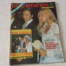 Coleccionismo de Revista Diez Minutos: DIEZ MINUTOS 1975 KARINA CARMEN SEVILLA TELLY SAVALLAS TOM JONES JULITA MARTINEZ CONCHA VELASCO. Lote 180518657