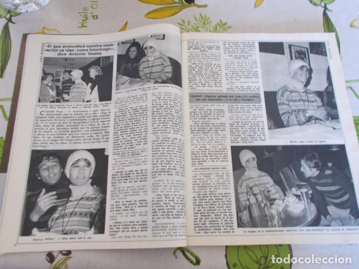 Coleccionismo de Revista Diez Minutos: REVISTA DIEZ MINUTOS Nº 1326 - BARBARA REY - MARISOL CON GADES - ROCIO JURADO Y CARRASCO - NADIUSKA - Foto 2 - 181004862