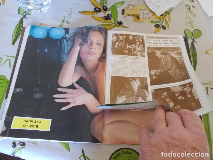Coleccionismo de Revista Diez Minutos: REVISTA DIEZ MINUTOS Nº 1326 - BARBARA REY - MARISOL CON GADES - ROCIO JURADO Y CARRASCO - NADIUSKA - Foto 3 - 181004862