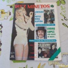 Coleccionismo de Revista Diez Minutos: REVISTA DIEZ MINUTOS Nº 1289 RAFAELLA CARRA - CHARO LOPEZ...POSTER MICHAEL CAINE Y BARBARA REY 335. Lote 181171723