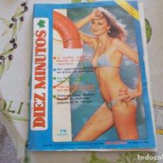 Coleccionismo de Revista Diez Minutos: REVISTA DIEZ MINUTOS EXTRA DE VERANO AÑO XXIX. Lote 181341438