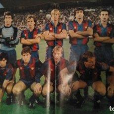 Coleccionismo de Revista Diez Minutos: POSTER FUTBOL CLUB BARCELONA REVISTA DIEZ MINUTOS 1754 AÑO 1985. Lote 182130977