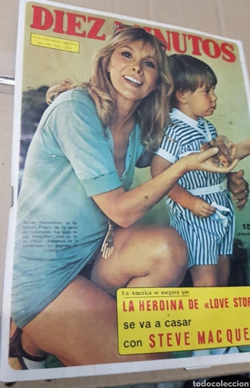 Coleccionismo de Revista Diez Minutos: Lote antiguas revistas diez minutos - Foto 3 - 182304483