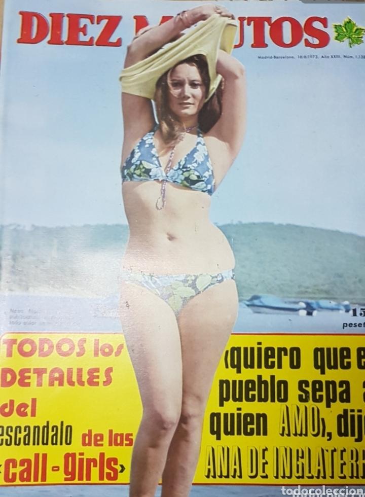 Coleccionismo de Revista Diez Minutos: Lote antiguas revistas diez minutos - Foto 6 - 182304483