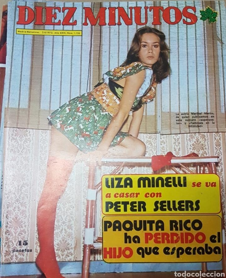 Coleccionismo de Revista Diez Minutos: Lote antiguas revistas diez minutos - Foto 7 - 182304483