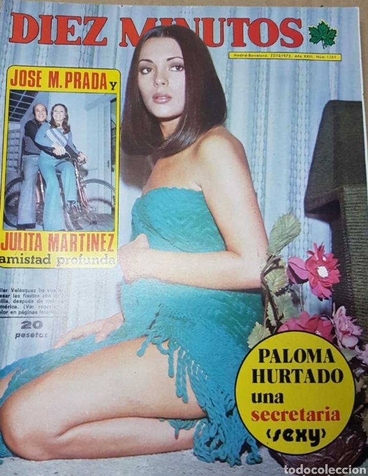 Coleccionismo de Revista Diez Minutos: Lote antiguas revistas diez minutos - Foto 8 - 182304483
