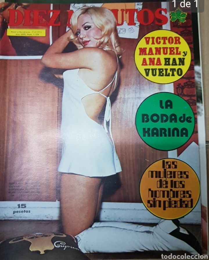 Coleccionismo de Revista Diez Minutos: Lote antiguas revistas diez minutos - Foto 9 - 182304483