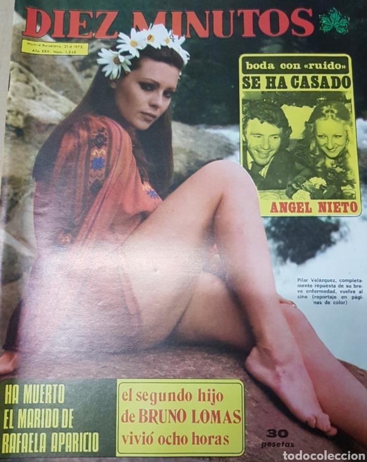 Coleccionismo de Revista Diez Minutos: Lote antiguas revistas diez minutos - Foto 10 - 182304483