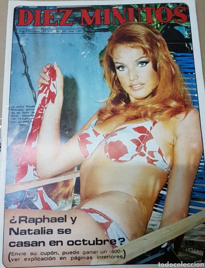 Coleccionismo de Revista Diez Minutos: Lote antiguas revistas diez minutos - Foto 11 - 182304483