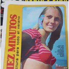 Coleccionismo de Revista Diez Minutos: LOTE ANTIGUAS REVISTAS DIEZ MINUTOS. Lote 182304483