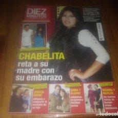 Coleccionismo de Revista Diez Minutos: REVISTA DIEZ MINUTOS N° 3248 AÑO 2013 CHABELITA . Lote 182908881