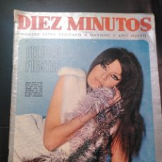 Coleccionismo de Revista Diez Minutos: REVISTA DÍEZ MINUTOS AÑO 1967 EXTRA NAVIDAD 1967 PORT MARISA MELL. Lote 183762183
