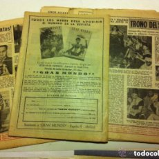 Coleccionismo de Revista Diez Minutos: DIEZ MINUTOS - LOTE DE 6 (AÑOS 1952/53). Lote 183816811