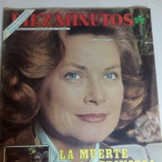 Coleccionismo de Revista Diez Minutos: REVISTA DIEZ MINUTOS N 1622. Lote 183964437