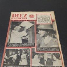 Coleccionismo de Revista Diez Minutos: MARTINE CAROL, BRIGITTE BARDOT, DIMITRI ROMANOV, CHERYL CRANE. 1959.. Lote 184455363