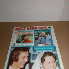 Coleccionismo de Revista Diez Minutos: REVISTA DIEZ MINUTOS NÚM 1.329. 12-2-1977.. Lote 185784493
