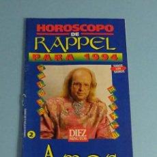 Coleccionismo de Revista Diez Minutos: HORÓSCOPO DE RAPPEL PARA 1994. AMOR. DIEZ MINUTOS. Lote 187186248