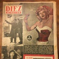 Coleccionismo de Revista Diez Minutos: DIEZ MINUTOS 13 FEB 1955 NUMERO 181 . Lote 187226048