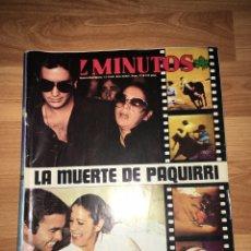 Coleccionismo de Revista Diez Minutos: DIEZ MINUTOS - ISABEL PANTOJA - PAQUIRRI. Lote 187475075