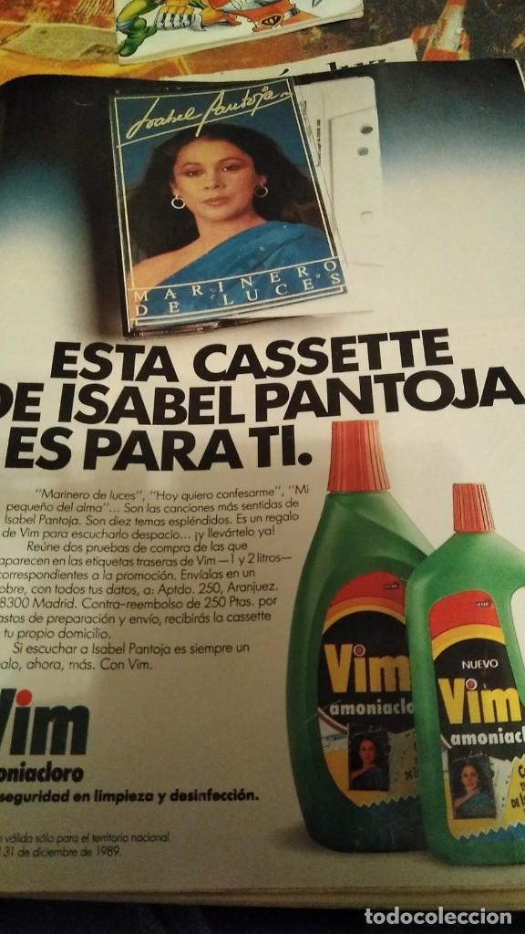 REVISTA DIEZ MINUTOS 1945 AÑO 1988 ISABEL PANTOJA (Coleccionismo - Revistas y Periódicos Modernos (a partir de 1.940) - Revista Diez Minutos)