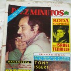 Coleccionismo de Revista Diez Minutos: DÍEZ MINUTO 1978.CARMEN SEVILLA. Lote 188645273