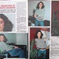 Coleccionismo de Revista Diez Minutos: RECORTE REVISTA DIEZ MINUTOS Nº 1745 1985 ANGELES CASO. Lote 191339150