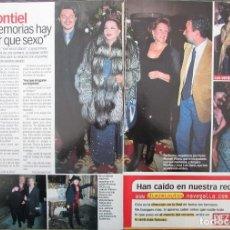 Coleccionismo de Revista Diez Minutos: RECORTE REVISTA DIEZ MINUTOS Nº 2573 2000 SARA MONTIEL . Lote 191342486