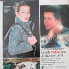 Coleccionismo de Revista Diez Minutos: RECORTE REVISTA DIEZ MINUTOS Nº 2573 2000 CARLOTA CASIRAGHI, ISABEL PANTOJA, HELEN LINDES. Lote 191342738