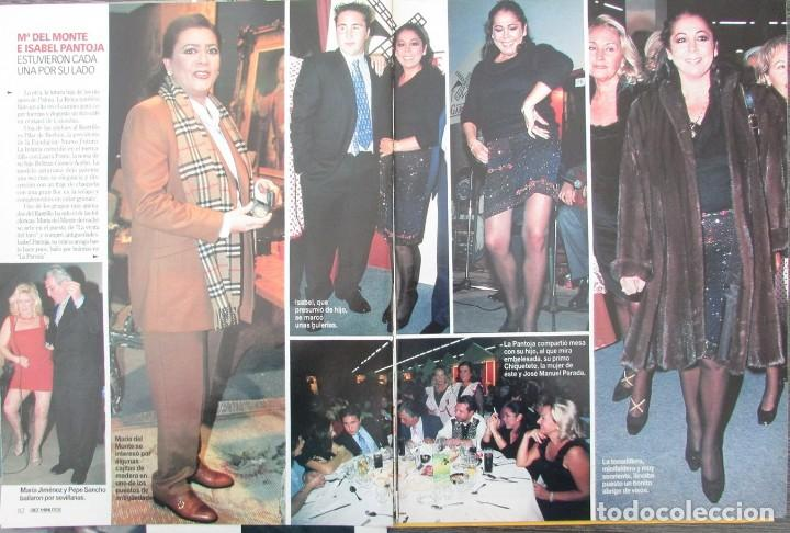 Coleccionismo de Revista Diez Minutos: RECORTE REVISTA DIEZ MINUTOS Nº 2573 2000 CARLOTA CASIRAGHI, ISABEL PANTOJA, HELEN LINDES - Foto 3 - 191342738