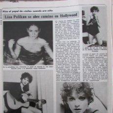 Coleccionismo de Revista Diez Minutos: RECORTE REVISTA DIEZ MINUTOS Nº 1434 1979 LISA PELIKAN. Lote 191436182