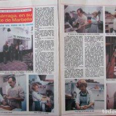 Coleccionismo de Revista Diez Minutos: RECORTE REVISTA DIEZ MINUTOS Nº 1434 1979 ROSA ZUMARRAGA, GUSTAVO RE. Lote 191436411