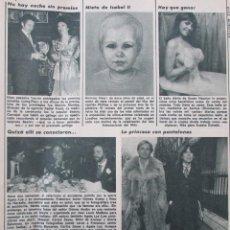 Coleccionismo de Revista Diez Minutos: RECORTE REVISTA DIEZ MINUTOS Nº 1434 1979 CAROLINA DE MONACO . Lote 191436496