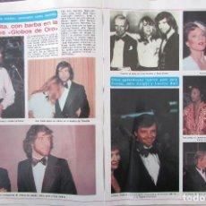 Coleccionismo de Revista Diez Minutos: RECORTE REVISTA DIEZ MINUTOS Nº 1434 1979 JOHN TRAVOLTA, JANE FONDA. Lote 191436611