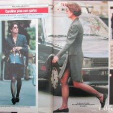 Colecionismo da Revista Diez Minutos: RECORTE REVISTA DIEZ MINUTOS Nº 2173 1993 CAROLINA DE MONACO. Lote 191509507