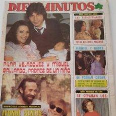 Coleccionismo de Revista Diez Minutos: REVISTA DIEZ MINUTOS 1536 MIGUEL GALLARDO MARISOL IVONNE SENTIS LOS ROPER BARBARA REY ISABEL PANTOJA. Lote 192855430