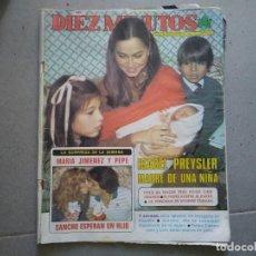 Coleccionismo de Revista Diez Minutos: REVISTA DIEZ MINUTOS AÑO 1981 N° 1580 MARIA JIMENEZ PEPE SANCHO FELIPE CAMPUZANO . Lote 192862211