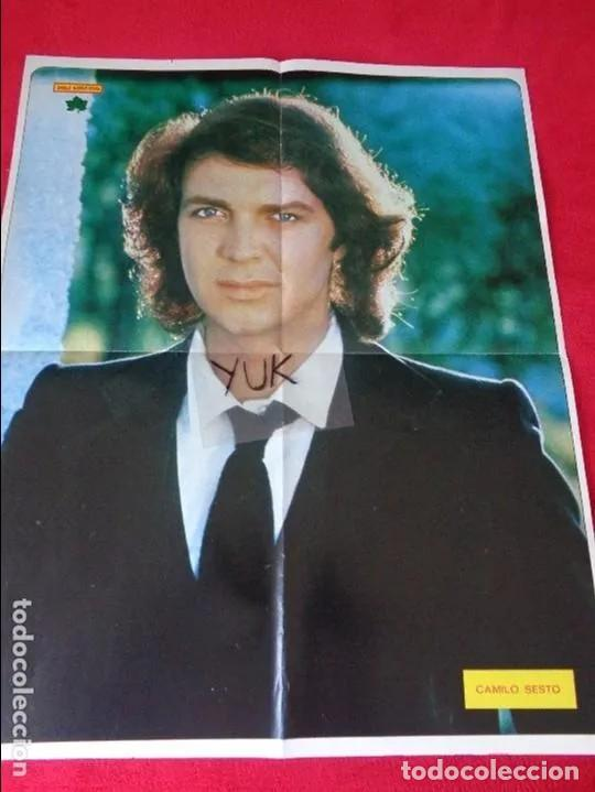 Coleccionismo de Revista Diez Minutos: DIEZ MINUTOS Nº 1491 POSTER GIGANTE CAMILO SESTO / MARIA JIMENEZ / MARIA JOSE CANTUDO - Foto 5 - 160573598
