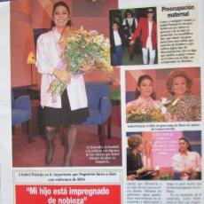 Coleccionismo de Revista Diez Minutos: RECORTE REVISTA DIEZ MINUTOS Nº 2164 1993 ISABEL PANTOJA. Lote 193241190