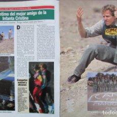 Coleccionismo de Revista Diez Minutos: RECORTE REVISTA DIEZ MINUTOS Nº 2164 1993 ALVARO BULTO SAGNIER 4 PGS. CAROLINA DE MONACO . Lote 193241368