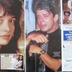 Coleccionismo de Revista Diez Minutos: RECORTE REVISTA DIEZ MINUTOS Nº 2164 1993 DANIELA PRE4Z, RAUL GAZOLLA 4 PGS. . Lote 193241562