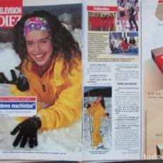 Coleccionismo de Revista Diez Minutos: RECORTE REVISTA DIEZ MINUTOS Nº 2164 1993 BEATRIZ RICO . Lote 193241590
