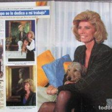 Coleccionismo de Revista Diez Minutos: RECORTE REVISTA DIEZ MINUTOS Nº 2164 1993 TESSA DE BAVIERA. Lote 193241613