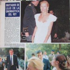 Coleccionismo de Revista Diez Minutos: RECORTE REVISTA DIEZ MINUTOS Nº 2028 1990 ALICIA Y ESTHER KOPLOWITZ. Lote 193241977