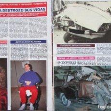 Coleccionismo de Revista Diez Minutos: RECORTE REVISTA DIEZ MINUTOS Nº 2028 1990 INMA DE SANTIS, ALVELO, NINO BRAVO, CECILIA, GURUCETA. Lote 193242090