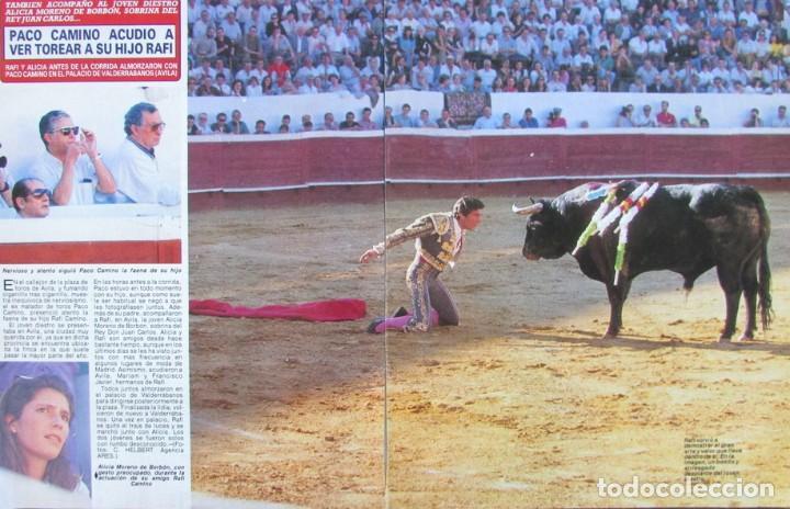 RECORTE REVISTA DIEZ MINUTOS Nº 2028 1990 PACO Y RAFI CAMINO (Coleccionismo - Revistas y Periódicos Modernos (a partir de 1.940) - Revista Diez Minutos)