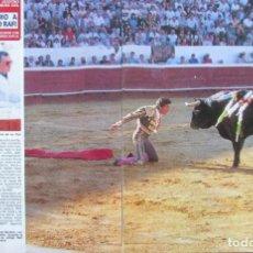 Coleccionismo de Revista Diez Minutos: RECORTE REVISTA DIEZ MINUTOS Nº 2028 1990 PACO Y RAFI CAMINO . Lote 193242537
