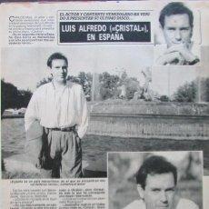 Coleccionismo de Revista Diez Minutos: RECORTE REVISTA DIEZ MINUTOS Nº 2028 1990 CARLOS MATA. Lote 193242761