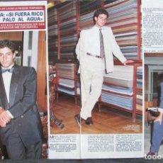 Coleccionismo de Revista Diez Minutos: RECORTE REVISTA DIEZ MINUTOS Nº 2028 1990 MIGUEL MOLINA 4 PGS. Lote 193242887